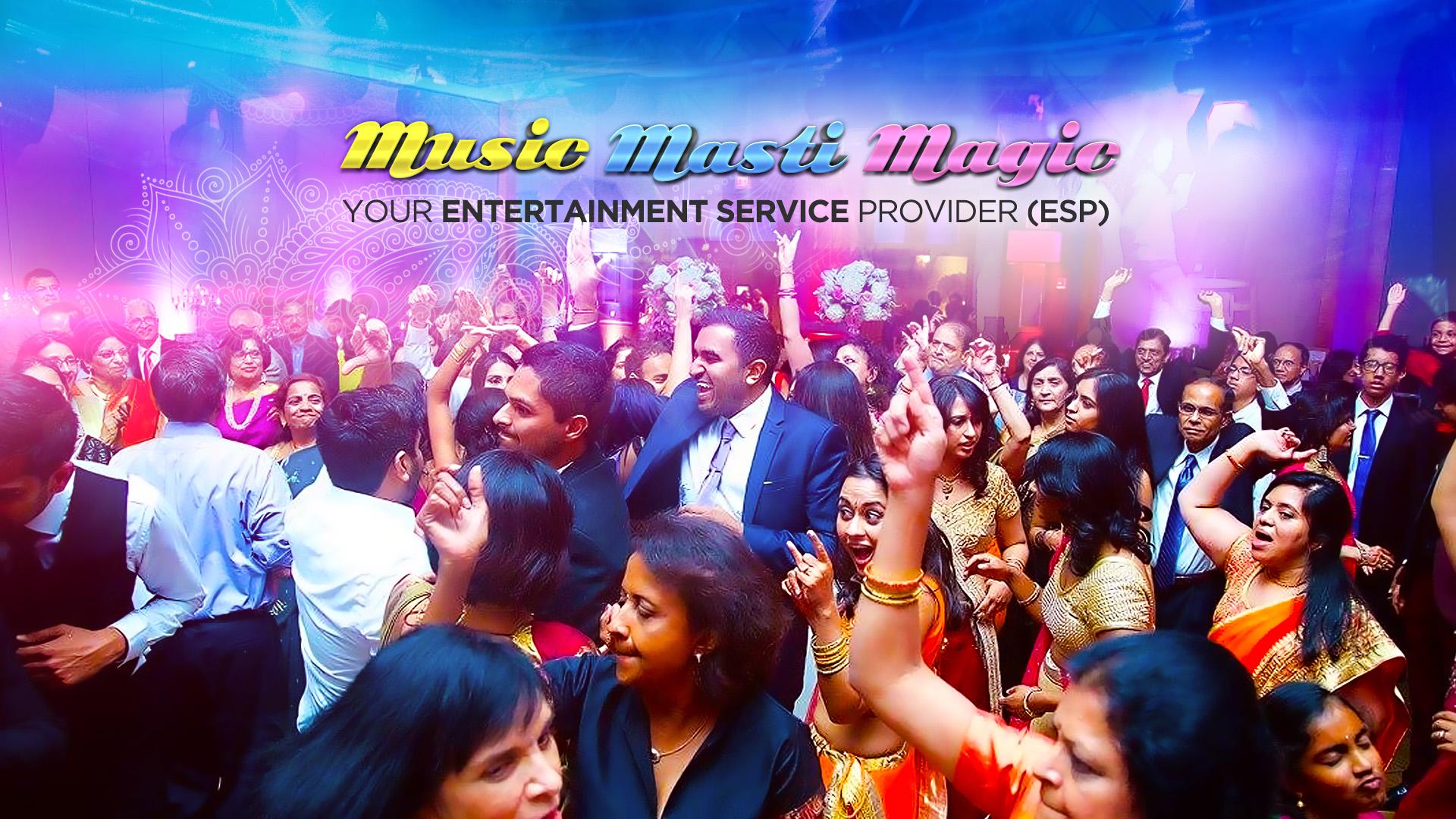 Best Indian Wedding DJs - Music Masti Magic